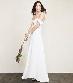 Reformation Constance Dress // Bridal Fashion