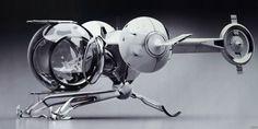 Oblivion Bubble Ship 1:48 Model Kit by Fantastic Plastic