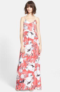 Parker 'Niko' Print Silk Maxi Dress available at #Nordstrom