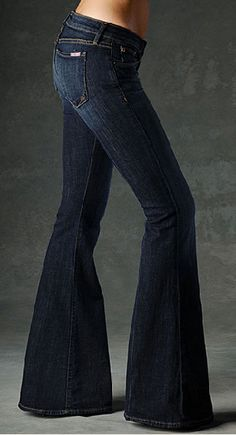super flare bell bottom jeans - Google Search