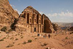 Ad-Deir en Petra (Jordania).