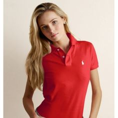 Ralph lauren classic - I Wear these tees to work..pink, red, blue and yellow...so comfortable!