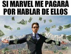 Read dinero, dinero from the story MARVEL MEMES :'v by (tyanne) with reads. Memes Humor, New Memes, Funny Memes, Hilarious, Marvel Vs, Mundo Marvel, Marvel Comics, Avengers Memes, Marvel Memes
