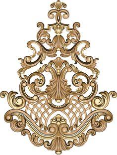 motif on Behance Baroque Design, Baroque Pattern, Pattern Art, Baroque Decor, Flower Ornaments, Ornaments Design, Filigree Tattoo, Flower Art Images, Paisley Art