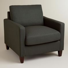 Charcoal Abbott Chair   World Market