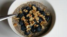 Blueberry No-Oatmeal