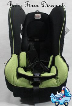 The Safe n Sound Compaq MKII Convertible Car Seat (Green) Slim-line