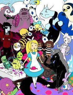 Alice adventure time