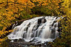 UP WATERFALLS MICHIGAN | Autumn at Bond Falls - Upper Peninsula, Michigan | Flickr - Photo ...