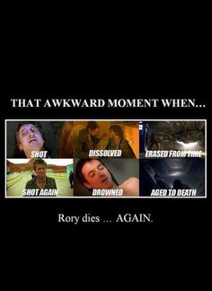 Still not happy that Rory is gone
