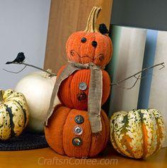 528 best diy pumpkin tutorials images on pinterest fall crafts diy a sweater pumpkin snowman on craftsncoffee solutioingenieria Choice Image