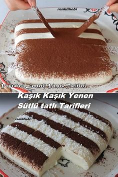 Turkish Recipes, Ethnic Recipes, Turkish Delight, Frozen Yogurt, Coffee Break, Beautiful Cakes, Tiramisu, Deserts, Food And Drink
