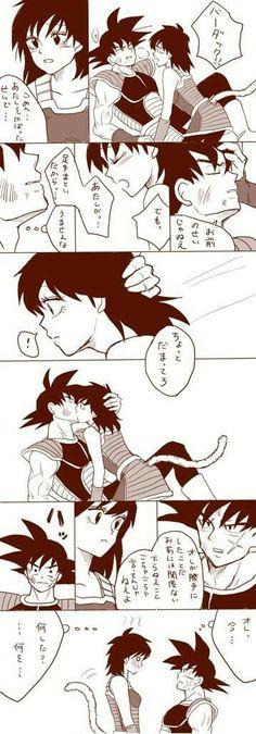 Bardock x Gine ( Bardock is way hotter than Goku imo)