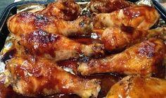 Baked BBQ Chicken Drumsticks