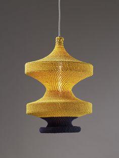 Beautiful crocheted pendant