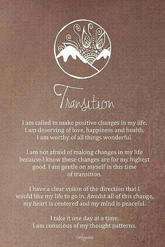 I am conscious of my thought pattern.