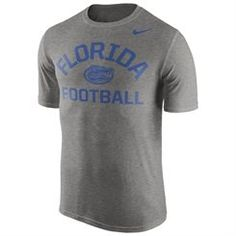 Men's Nike Gray Florida Gators Legend Lift Performance T-Shirt Sport Outfits, Baseball Outfits, Florida Outfits, Florida Gators, Sports Shops, Fan Gear, Nike Men, Gray, My Style