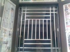 ss window grill image