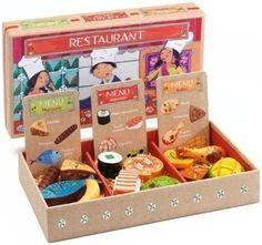 Djeco DJ06547 - Set Imitaci�n Restaurante - Comprar Ahora