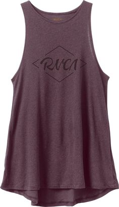 Notebook Script Tunic Tank Top | RVCA
