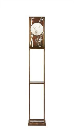 【Lightingest】Zen Chinese style The shadow of the bamboo Floor lamp最灯饰】5月新品禅意新中式竹影设计师样板房书房茶室落地灯