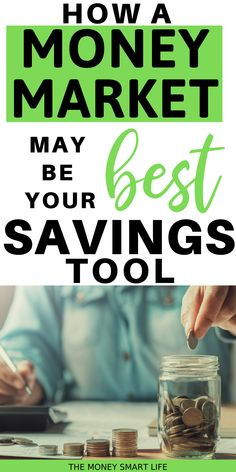 Money Market accounts are a great opportunity to receive higher interest rates while having easy access to your money instead of using a checking account. Money Market Account, Checking Account, Best Savings, Interest Rates, Easy Access, Frugal, Work On Yourself, Accounting, Life Is Good