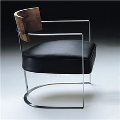 Flexform Morgan Armchair - Metal Armchairs - Modern Armchair - Modern Furniture | SwitchModern.com