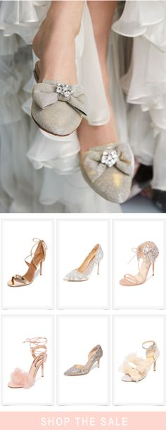 Bridal bow shoes. Bridal shoes - enjoy 25% off with code...