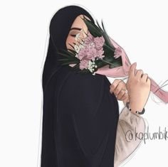 ✔ Fashion Girl Sketch To Draw Fashion Art, Hijab Fashion, Girl Fashion, Wallpaper Ramadhan, Cute Girl Wallpaper, Cartoon Wallpaper, Iphone Wallpaper, Hijab Drawing, Hijab Cartoon