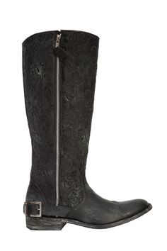 """These Old Gringo """"Flamma"""" boots provided by Vesta's are edgy and chic. They can easily be dressed up or down."""