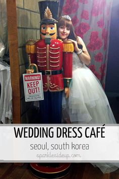 This summer could be perfect to do this with the girls Dress up at the Princess Diary Café (aka the Wedding Dress Café) in Seoul