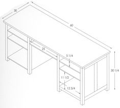 Office Desk Dimensions Standard