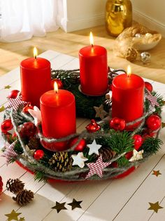 ▷ Order Advent wreath or make your own - 44 creative ideas