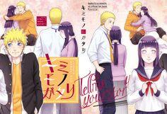 """Naruto & Hinata Oficial Fan Book """"Tell me Your Story"""" Cubierta Ilustrada por HAL, Sale a la Venta el 29 de Enero By: 石口りの"""