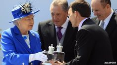 Queen Elizabeth II kicked off her Diamond Jubilee celebrations Saturday at the races. The celebrations mark 60 years on the throne for the Queen. (via BBC news)
