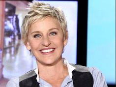 Ellen Degeneres - #best #female talk show host #hilarious #entertaining #talented