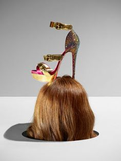 """""""Women's relationship to shoes is similar to women's relationship to men. We can't live without them, but living with them is so painful!"""" Rossy de Palma. Christian Louboutin: Shoe Artist"""