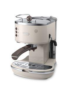 Delonghi ECOV311.BG Icona Vintage Traditional Pump Espresso Coffee Machine: Amazon.co.uk: Kitchen & Home