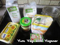 Vom Vegi zum Veganer: Hefeteigblume süß