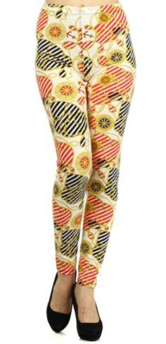 Compass Print Spring Leggings by Cali West Boutique - $14 #Leggings #OnlineShopping #Fashion #PrintLeggings