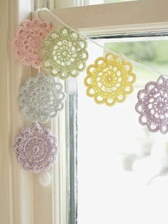 Doily Garlands