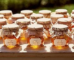 tarros de miel -