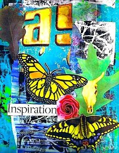 Spontaneous Art Therapy Techniques for Working with Teens. (Counseling)  Mixed Media Collage by Shelley Klammer  Counselors, join us at: Facebook.com/LifesLearningForCounselors *  Subscribe to my blog at: http://lifeslearning.org/  Twitter: @sapelskog