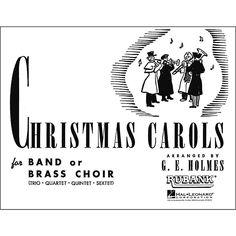 Hal Leonard Christmas Carols for Band Or Brass Choir 1st Alto Saxophon