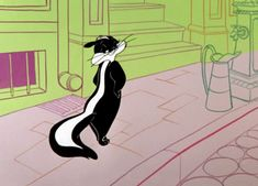 Find GIFs with the latest and newest hashtags! Search, discover and share your favorite Looney Tunes GIFs. The best GIFs are on GIPHY. Classic Cartoon Characters, Classic Cartoons, Looney Tunes Cartoons, Funny Cartoons, Cartoon Wallpaper, Pepe Le Pew Quotes, Merrie Melodies, The Pussycat, Romantic Gestures
