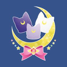 Check out this awesome 'Sailor+Scout+Cats' design on Sailor Moom, Sailor Moon Luna, Sailor Neptune, Sailor Uranus, Sailor Moon Crystal, Sailor Scouts, Luna Et Artemis, Sailor Moon Party, Sailor Moon Wallpaper