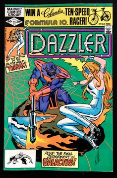 DAZZLER #11 JANUARY 1982 MARVEL COMICS BRONZE AGE FINE CONDITION