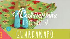 Descomplica! Aprenda a costurar um guardanapo de tecido com canto mitrado