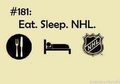 All day everyday. #hockey