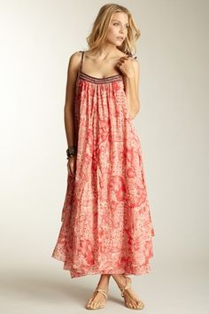 Free People Moroccan Dress. Buy @ http://www.hautelook.com/product/3316292